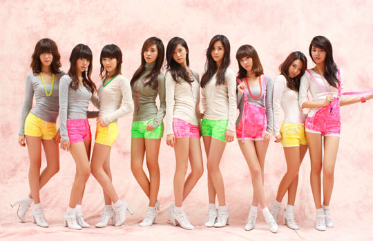 girls generation gee members