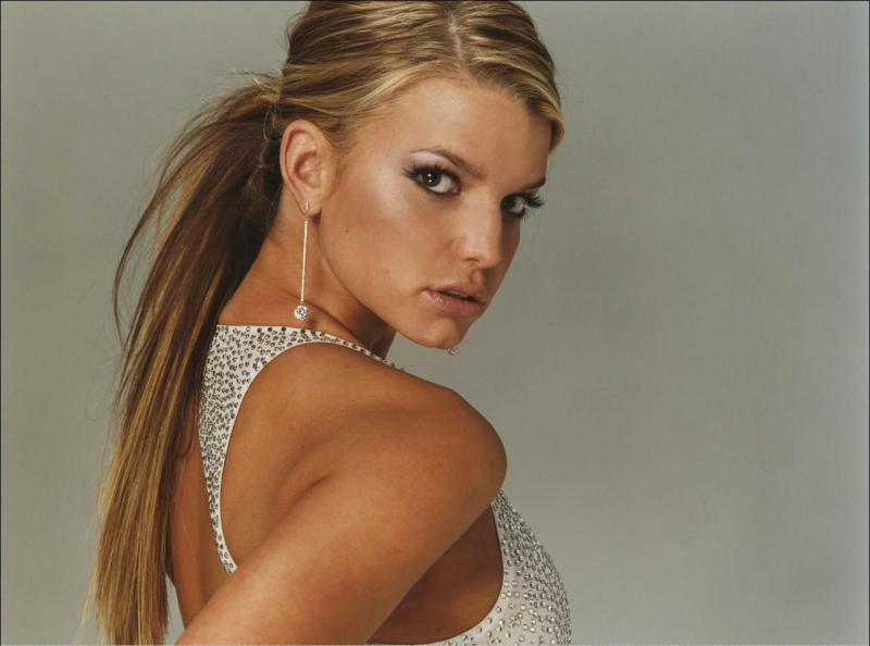 A Look Back Jessica Simpson Suit Up