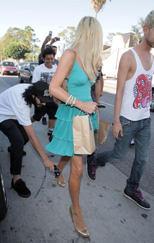 Paris Hilton Goes Green