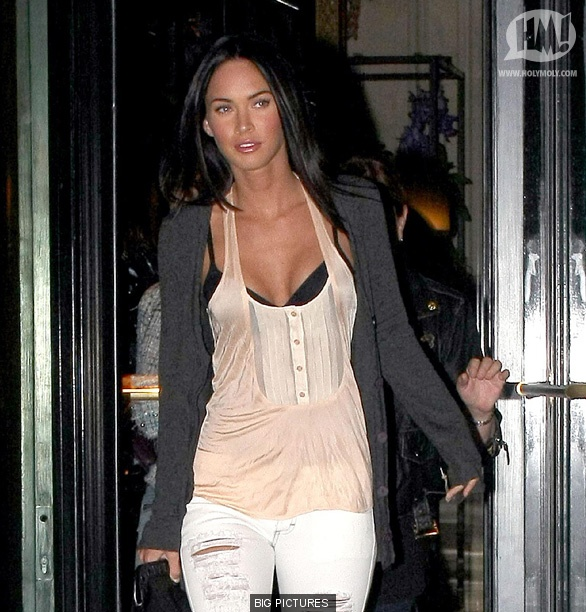 Megan Fox - who is rumoured to be playing Catwoman in the new Batman film